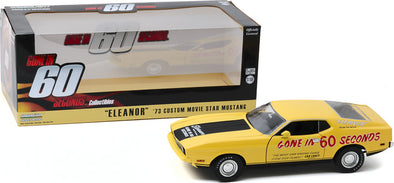 "1:18 Gone in Sixty Seconds (1974) - 1973 Ford Mustang Mach 1 ""Eleanor"" (Post-Filming Tribute Edition)"