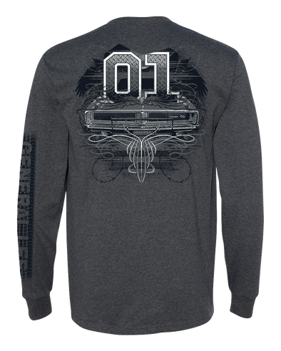 General Lee Tattoo Long Sleeve T-Shirt