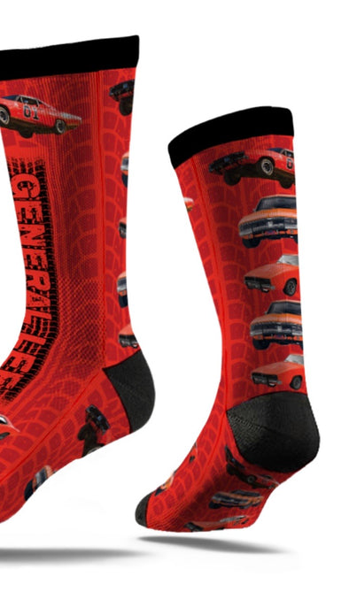General Lee Car Socks