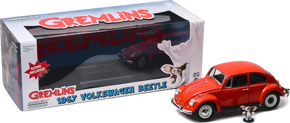 1:18 Gremlins (1984) - 1967 Volkswagen Beetle with Gizmo Figure