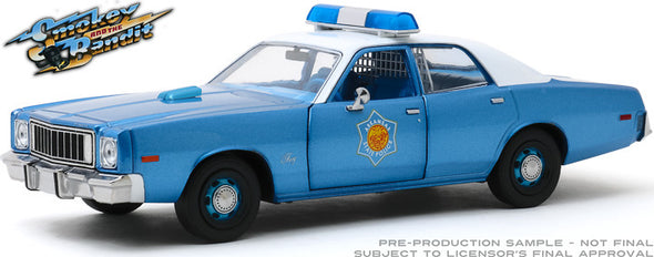 JUNE 2020 PRE-ORDERS ONLY 1:43 Smokey and the Bandit (1977) - 1975 Plymouth Fury Arkansas Sheriff