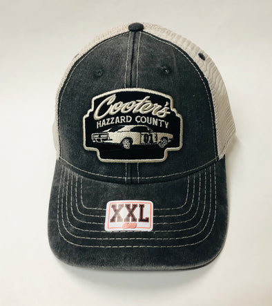 2XL Cooter's Hazzard County General Lee Trucker Hat  ht10-2X