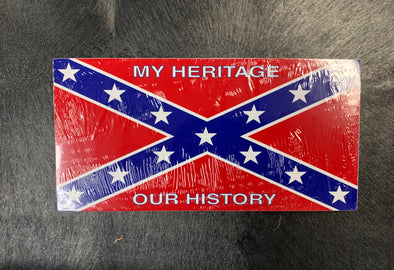 My Heritage Our History Bumper Sticker