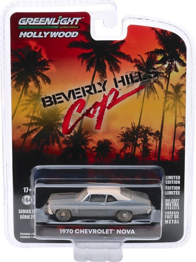 1:64 Hollywood Series 27 - Beverly Hills Cop (1984) - 1970 Chevrolet Nova Solid Pack