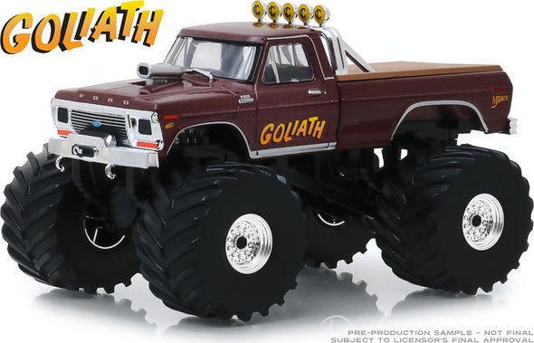 1:43 Kings of Crunch - Goliath - 1979 Ford F-250 Monster Truck (with 66-Inch Tires)