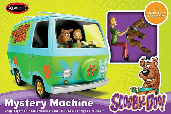 1:25 Scooby-Doo Mystery Machine w/Painted Figures (Snap Model Kit)
