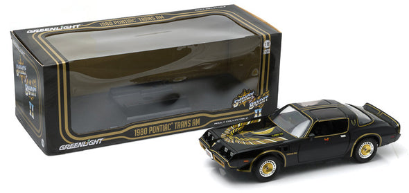 MARCH 2020 PRE-ORDERS ONLY 1:18 Smokey and The Bandit II (1980) - 1980 Pontiac Firebird Trans Am Turbo 4.9L