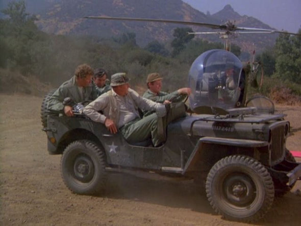 JULY 2020 Pre-Orders Only 1:18 M*A*S*H (1972-83 TV Series) - 1942 Willys MB Jeep