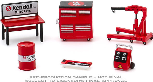1:64 Auto Body Shop - Shop Tool Accessories Series 3 - Kendall Motor