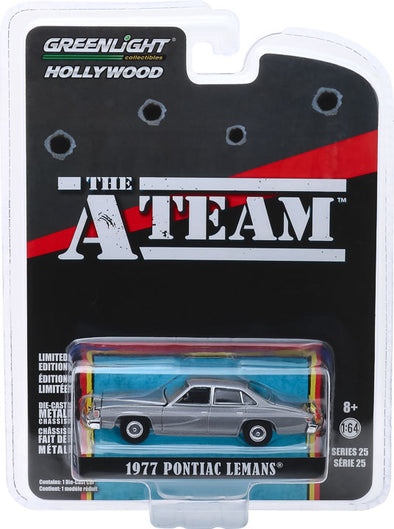 1:64 Hollywood Series 25 - The A-Team (1983-87 TV Series) - 1977 Pontiac LeMans Solid Pack