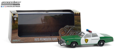 1:43 1975 Plymouth Fury - Chickasaw County Sheriff