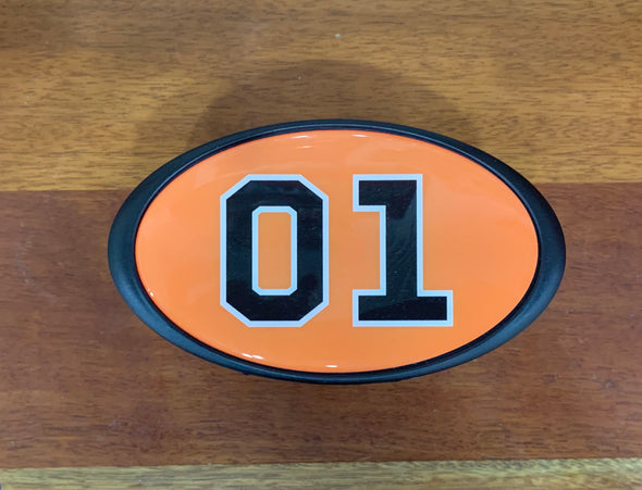 General Lee 01 Trailer Hitch Cover