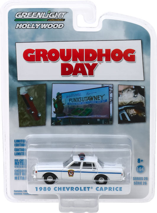 1:64 Groundhog Day (1993) - 1980 Chevrolet Caprice Police