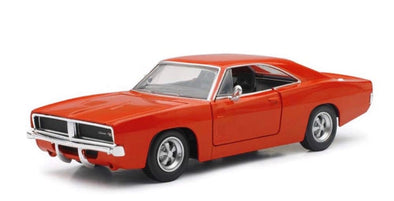 1:24 Scale 1969 Dodge Charger R/T (Orange) Comes with Decal Kit