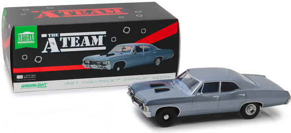 1:18 Artisan Collection - The A-Team (1983-87 TV Series) - 1967 Chevrolet Impala Sedan