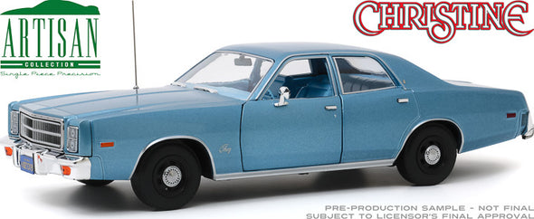 JUNE 2020 PRE-ORDERS ONLY 1:18 Artisan Collection - Christine (1983) - Detective Rudolph Junkins' 1977 Plymouth Fury