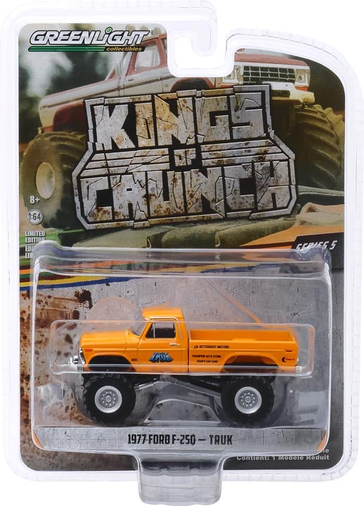 1:64 Kings of Crunch Series 5 - Truk - 1977 Ford F-250 Monster Truck Solid Pack