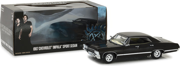 1:24 Supernatural (2005-Current TV Series) - 1967 Chevrolet Impala Sport Sedan
