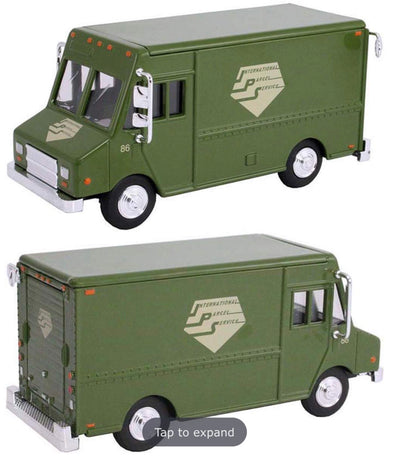 "1:48 Delivery Step Van ""International Parcel Service"" (Green) King of Queens"