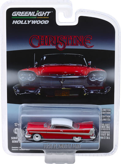 1:64 Christine (1983) - 1958 Plymouth Fury Solid Pack