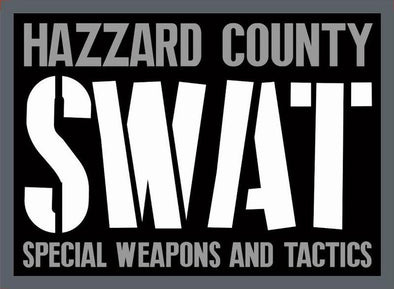 Hazzard County SWAT Patch Iron-On