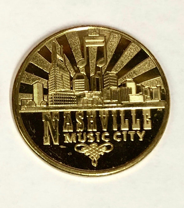 Cooter's Garage Tow Truck Nashville Collector Coin