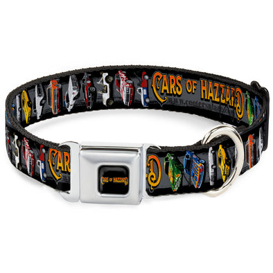 Cars of Hazzard Dog Collar