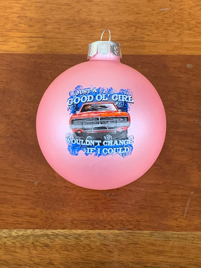 Good Ol' Girls Christmas Ornament (Pink)