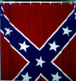 Confederate Flag Shower Curtain