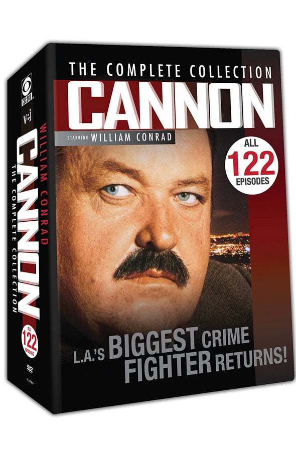 Cannon: The Complete Collection DVD