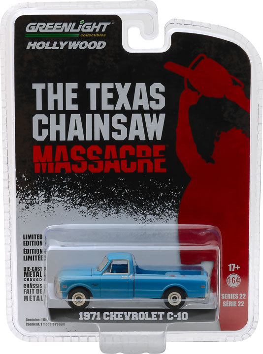 1:64 The Texas Chain Saw Massacre (1974) - 1971 Chevrolet C-10