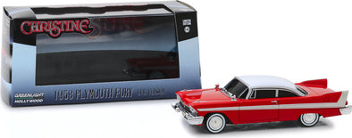 1:43 Christine (1983) - 1958 Plymouth Fury (Evil Version with Blacked Out Windows)