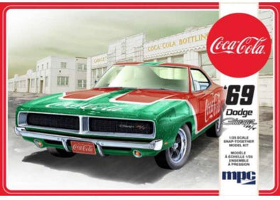 "1969 Dodge Charger RT ""Coca Cola"" (Snap 2T) (Model Kit)"