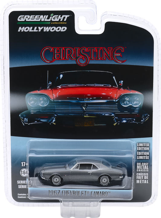 1:64 Hollywood Series 27 - Christine (1983) - Buddy Repperton's 1967 Chevrolet Camaro Solid Pack