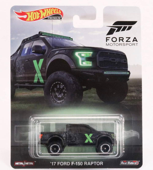 1:64 Forza Motorsport 2017 Ford F-150 Raptor Pickup