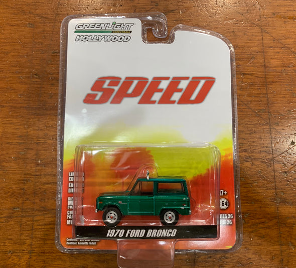 GREENIE 1:64 Speed (1994) - Jack Traven's 1970 Ford Bronco