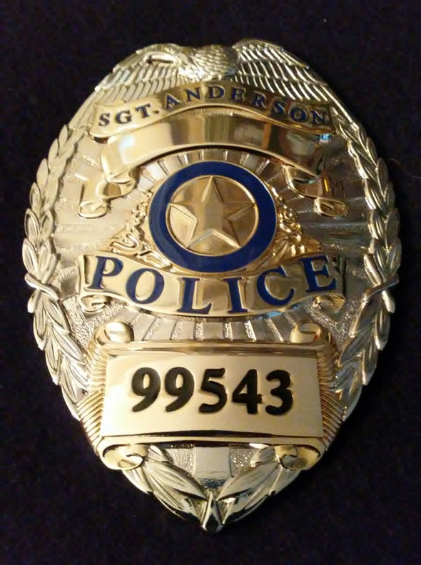 "Sgt. ""Pepper"" Anderson (Angie Dickinson) #99543 Replica Prop Badge"