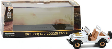 "1:43 Scale 1979 Jeep CJ-7 Golden Eagle ""Dixie"""