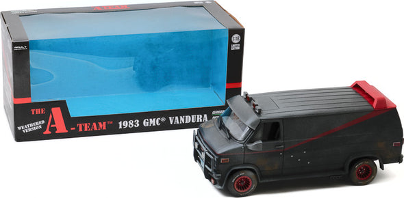 1:18 The A-Team (1983-87 TV Series) - 1983 GMC Vandura (Weathered Version with Bullet Holes)