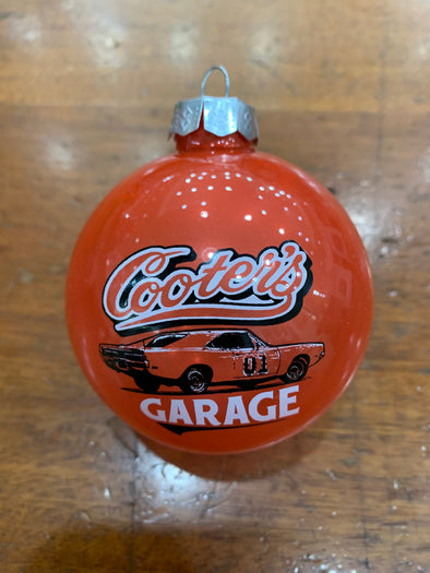 Cooter's General Lee Christmas Ornament