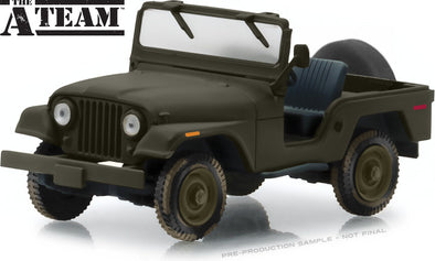 1:43 The A-Team (1983-87 TV Series) - Jeep CJ-5