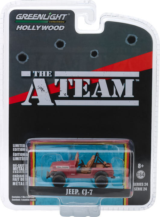 1:64 Hollywood Series 24 - The A-Team (1983-87 TV Series) - Jeep CJ-7