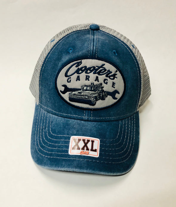 2XL Cooter's Garage Tow Truck Trucker Hat Oval ht37