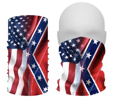 Flag BLENDED GAITER Face Shield Made in 🇺🇸