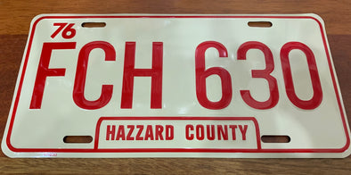 FCH 630 License Plate (Daisy's Jeep)