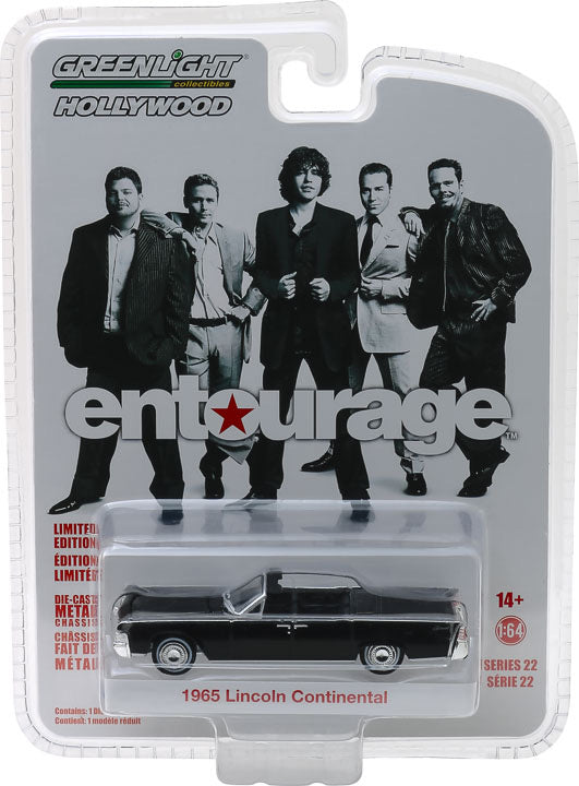 1:64 Hollywood Series 22 - Entourage (2004-2011 TV Series) - 1965 Lincoln Continental Convertible Solid Pack