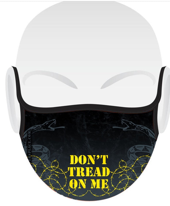 Don't Tread on Me Face Cover Made in 🇺🇸