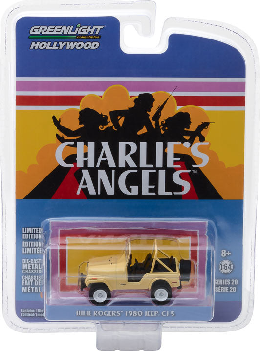 1:64 Hollywood Series 20 - Charlie's Angels (1976-81 TV Series) - Jeep CJ-5 Solid Pack