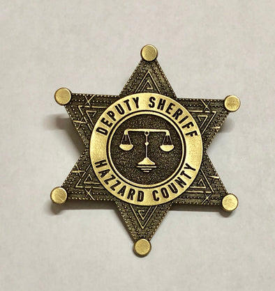 Sheriff Hazzard County Badge