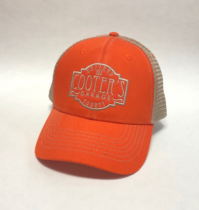Cooter's Hazzard County Trucker Hat Orange